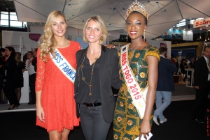 MT 2015 & MISS FRANCE 2015 ET SYLVIER TELLIER, PRESIDENTE DU COMITE MISS FRANCE